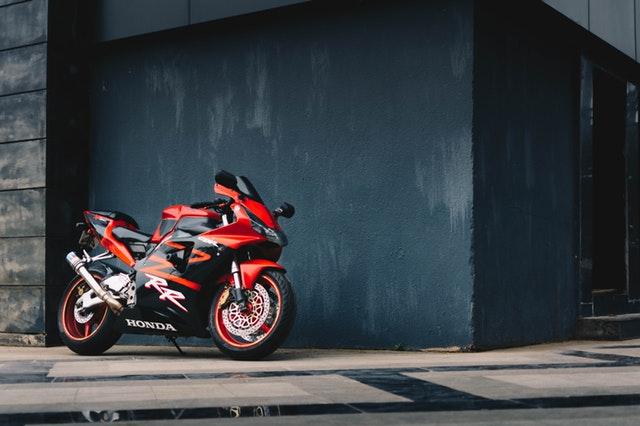 športové HONDA motorka