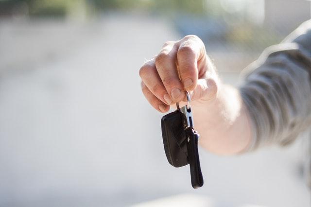 kľúče od auta