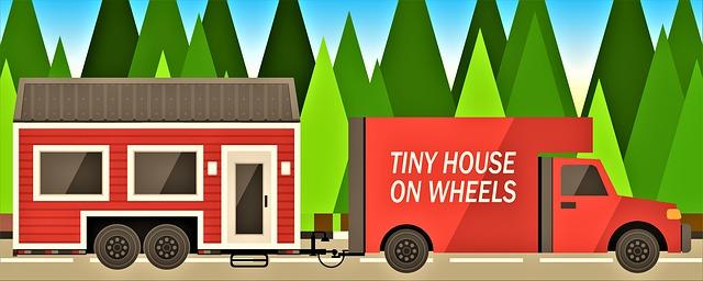 Dom na kolesách, auto, preprava