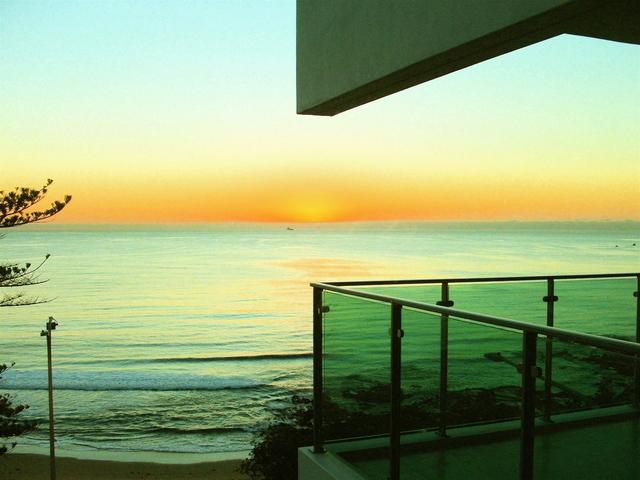 Balkón, výhľad na more